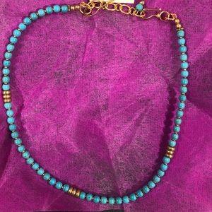 NWT Dogeared Pehn Lenh Turquoise Choker